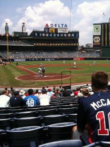 View from Turner Field