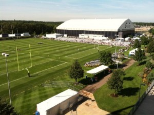 NFL Training Camp View