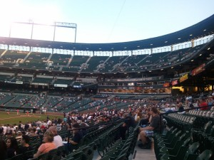 Camden Yards View