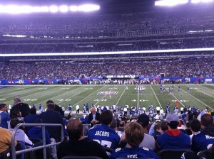 Giants Rams Game