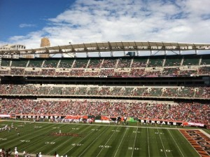Empty Paul Brown Stadium