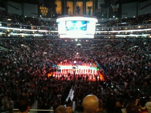 Clippers Lakers Preseason Game