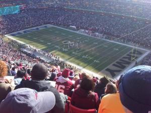Patriots Redskins Game