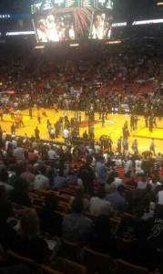 Heat Knicks Game