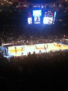 Knicks Jazz Game
