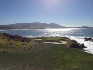 View from 7 tee Pebble Beach
