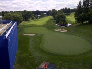 View from Canadian Open 2012