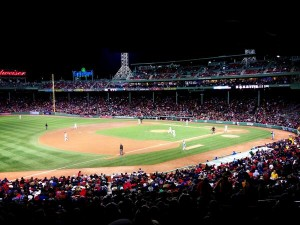 Fenway Red Sox A's