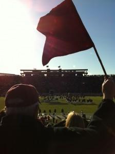 The Harvard Football Flag